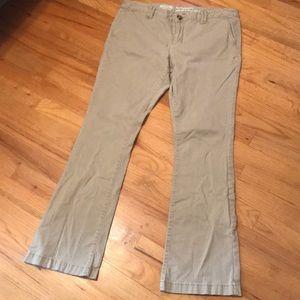 Mossimo khaki bootcut pants